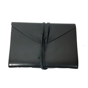 Barnes and Noble Bombay Black Leather Journal